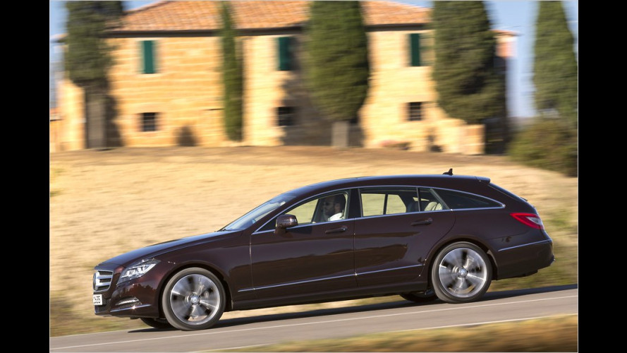 Mercedes CLS Shooting Brake im Test
