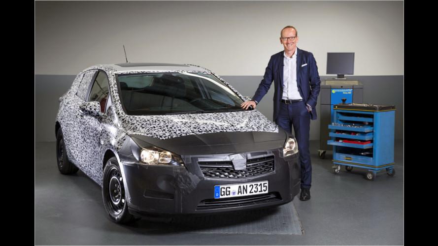 Kürzer und leichter: Der neue Astra K