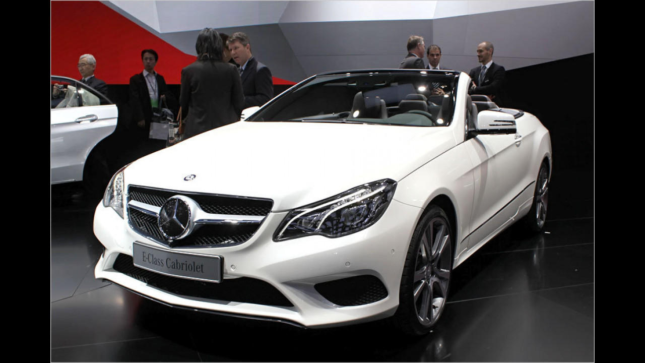 Mercedes E-Klasse Cabrio Facelift
