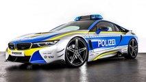 Voiture de police BMW i8 AC Schnitzer