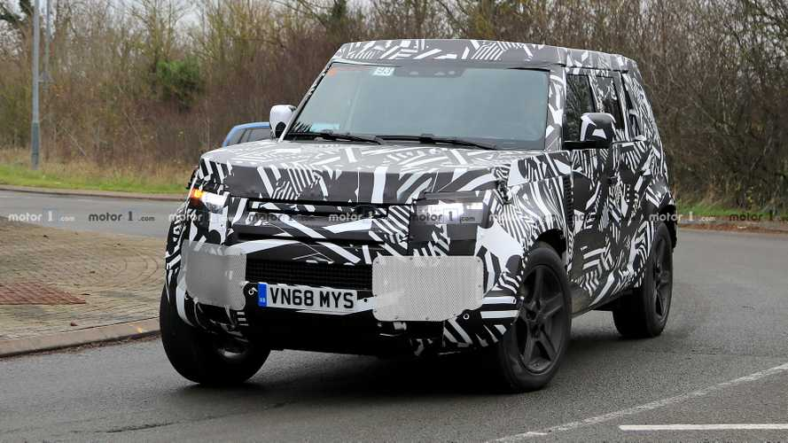 Land Rover Defender İngiltere'de görüntülendi