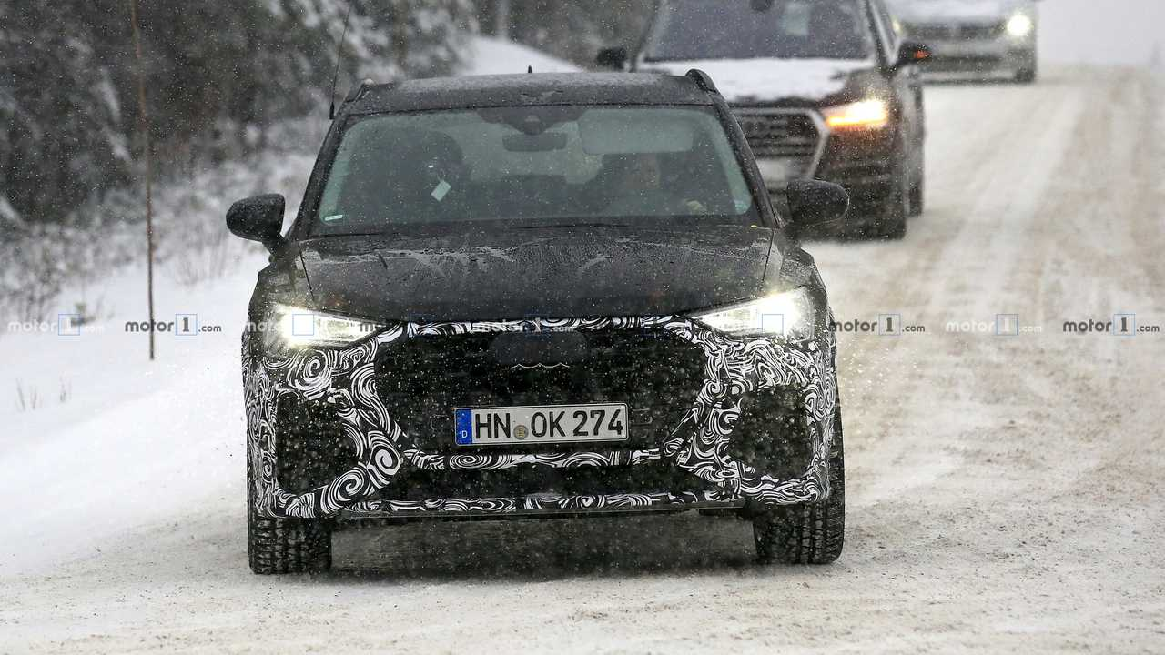 2020 Audi RS Q3 spy photo