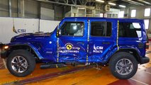 Jeep Wrangler Euro NCAP crash test