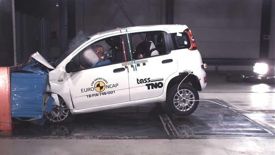 FIAT Panda da Euro NCAP'de sıfır çekti!