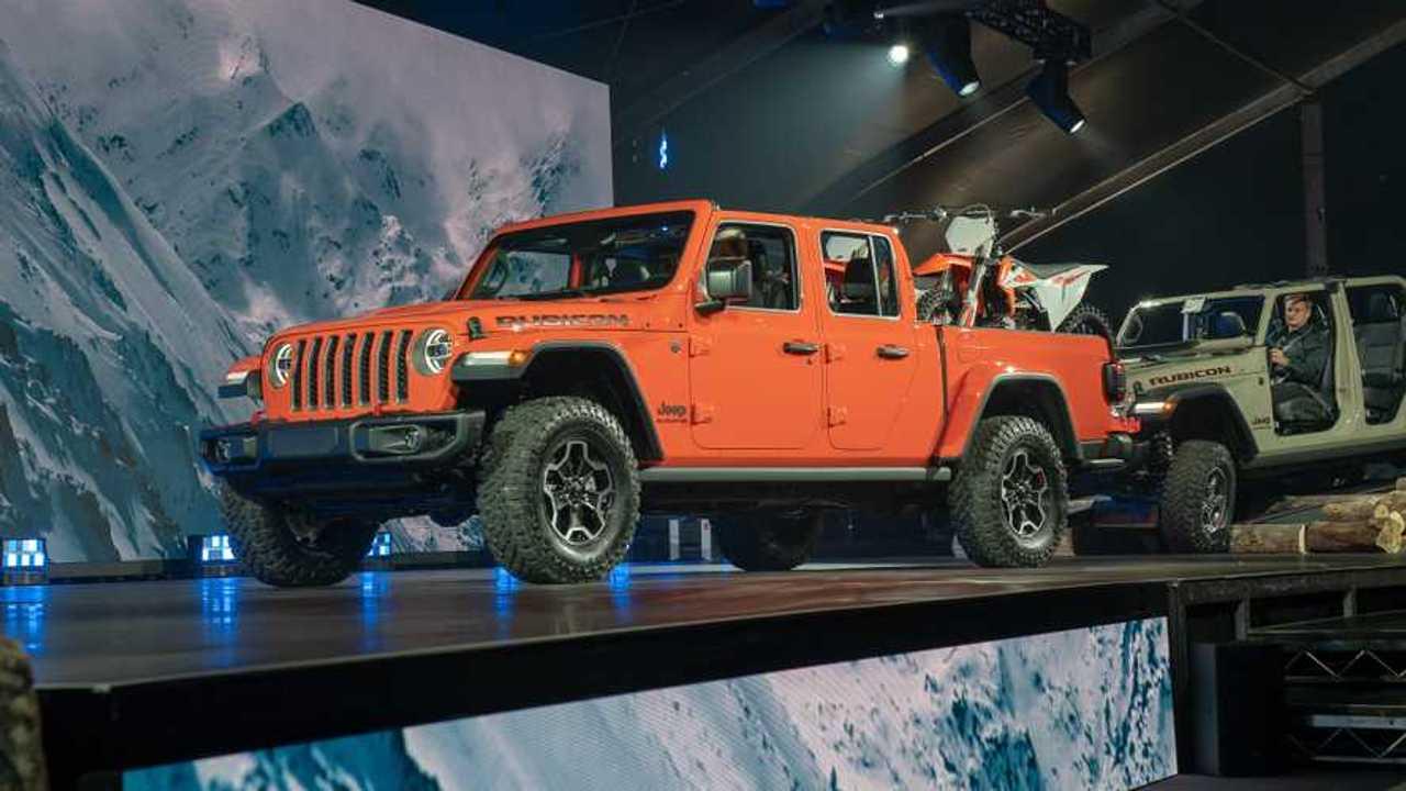 Jeep Gladiator 2020 - Salão de Los Angeles