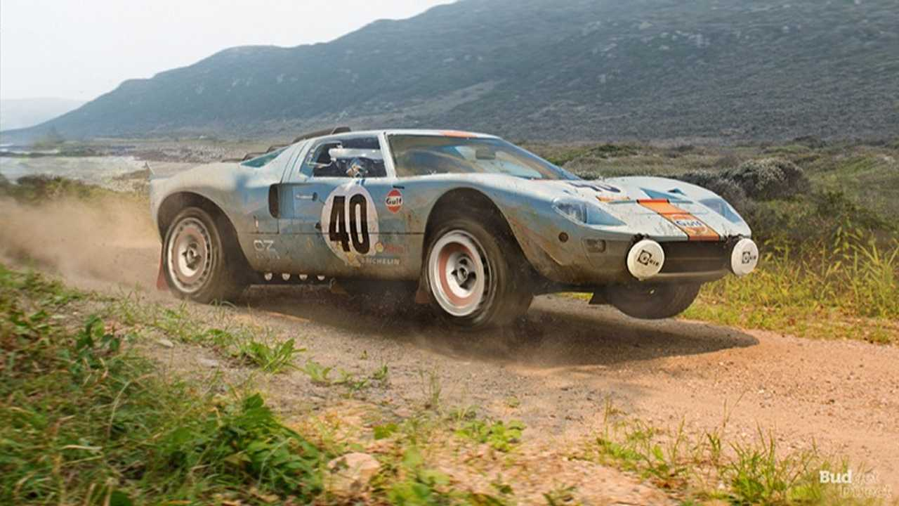 2. Ford GT40 Rally Car