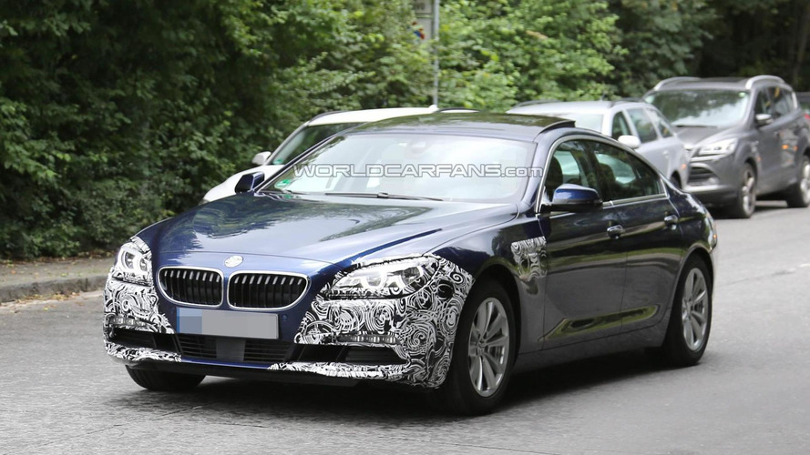 BMW 6-Series Coupe and GranCoupe facelift spied for the first time