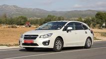 2016 Subaru Impreza mule spy photo