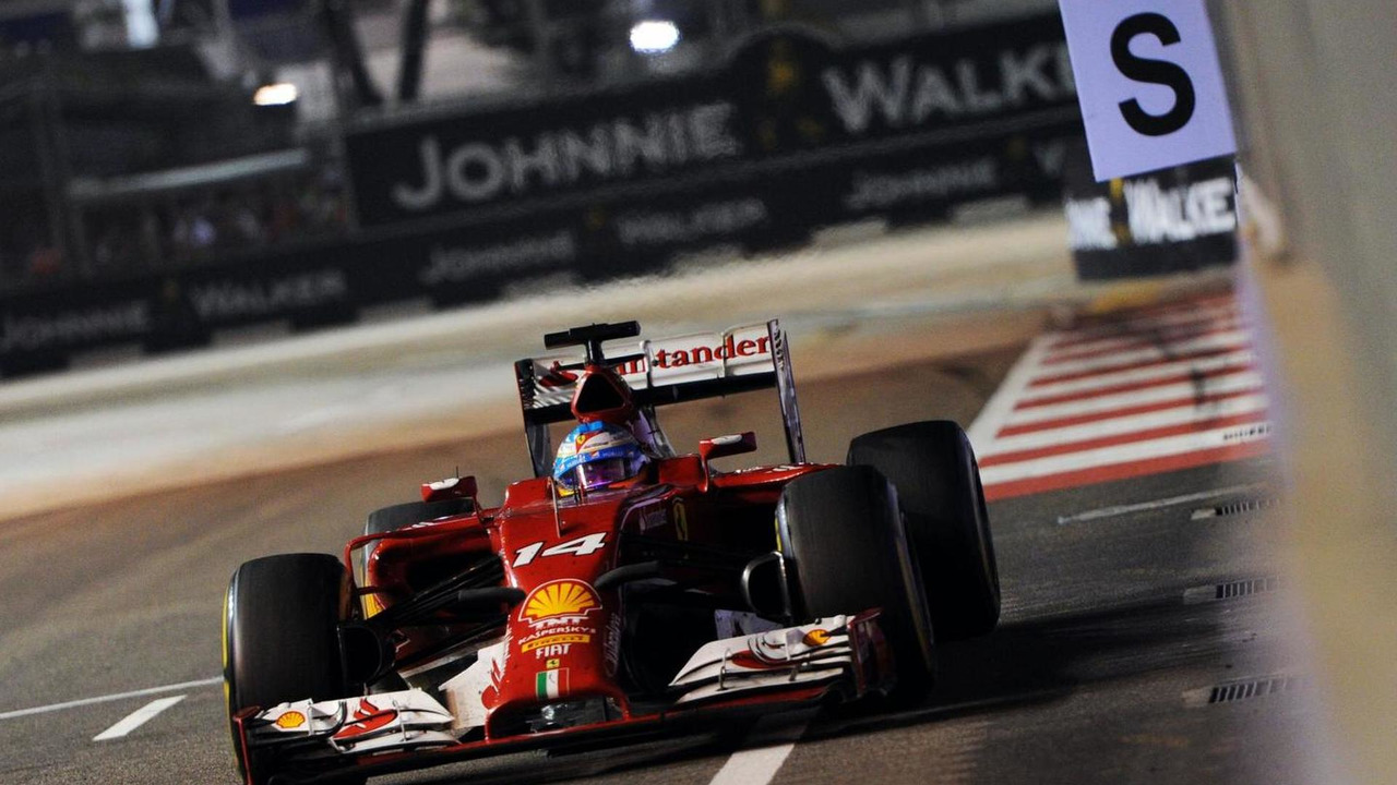 Fernando Alonso (ESP), 21.09.2014, Singapore Grand Prix, Singapore / XPB