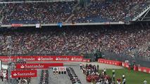 The grid before the start of the race, 20.07.2014, German Grand Prix, Hockenheim / XPB