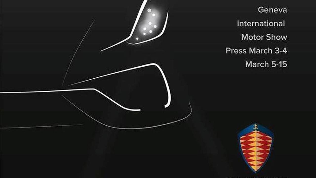 Koenigsegg Regera teaser image