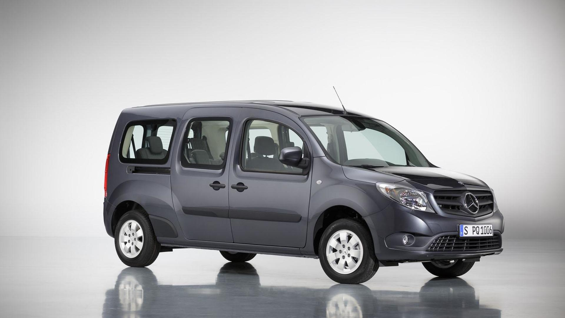 Mercedes Citan Extra Long.Mercedes Citan Extra Long Wheelbase Model Launched