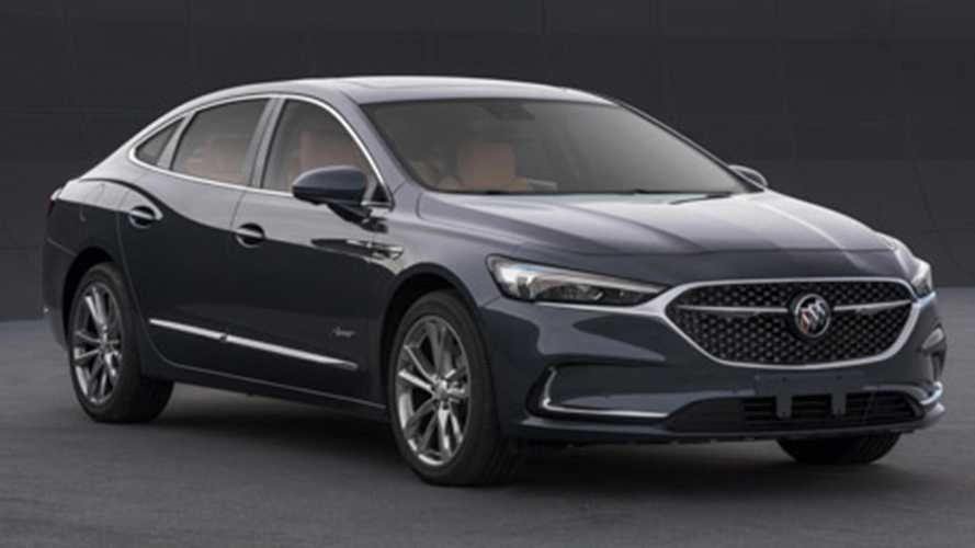 Refreshed Buick LaCrosse Photos Leak Online