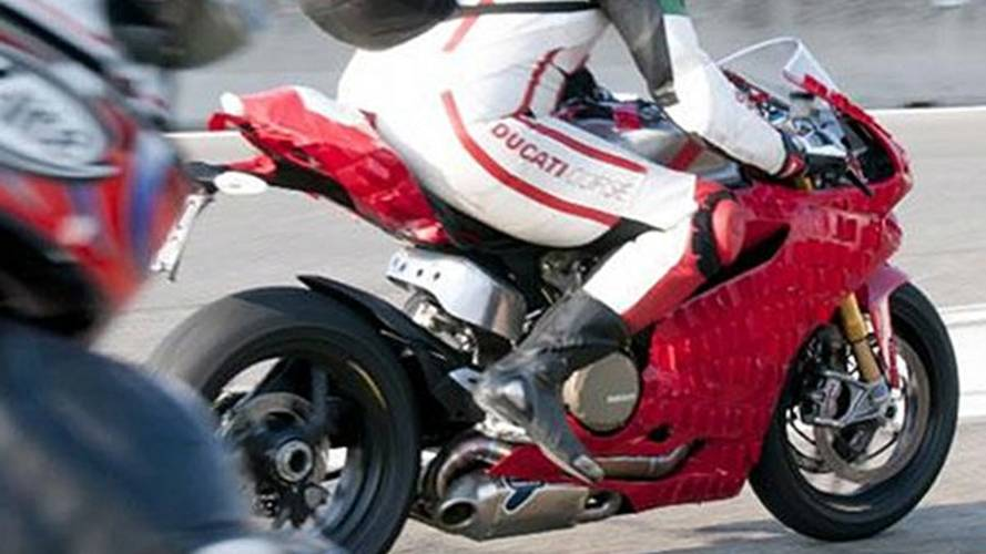 Spy Photos: the Ducati 1199 Panigale porker