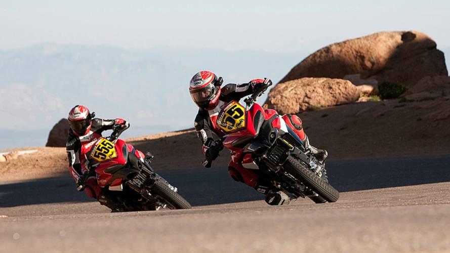 Video: Ducati, Pikes Peak, 2010