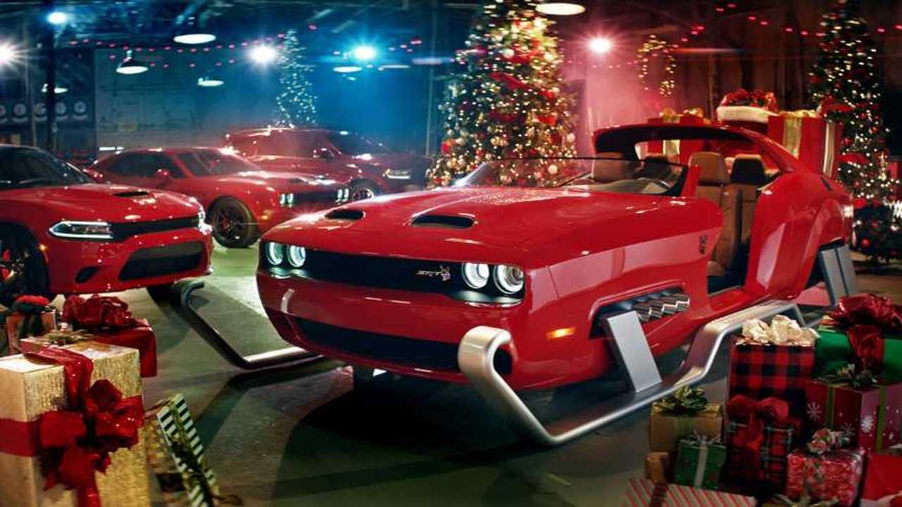 Dodge Challenger Santa Sleigh