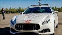 Maserati, prove di guida autonoma