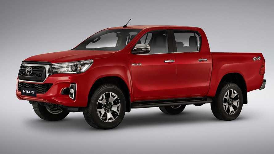 Toyota reajusta preços e deixa Hilux, SW4 e RAV4 até R$ 5 mil mais caros