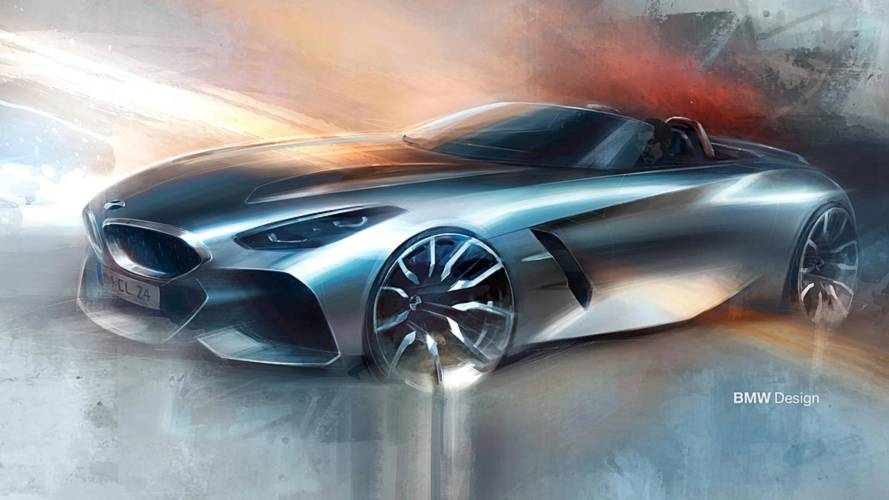 Yeni BMW Z4 First Edition'ın teaser görüntüleri ortaya çıktı