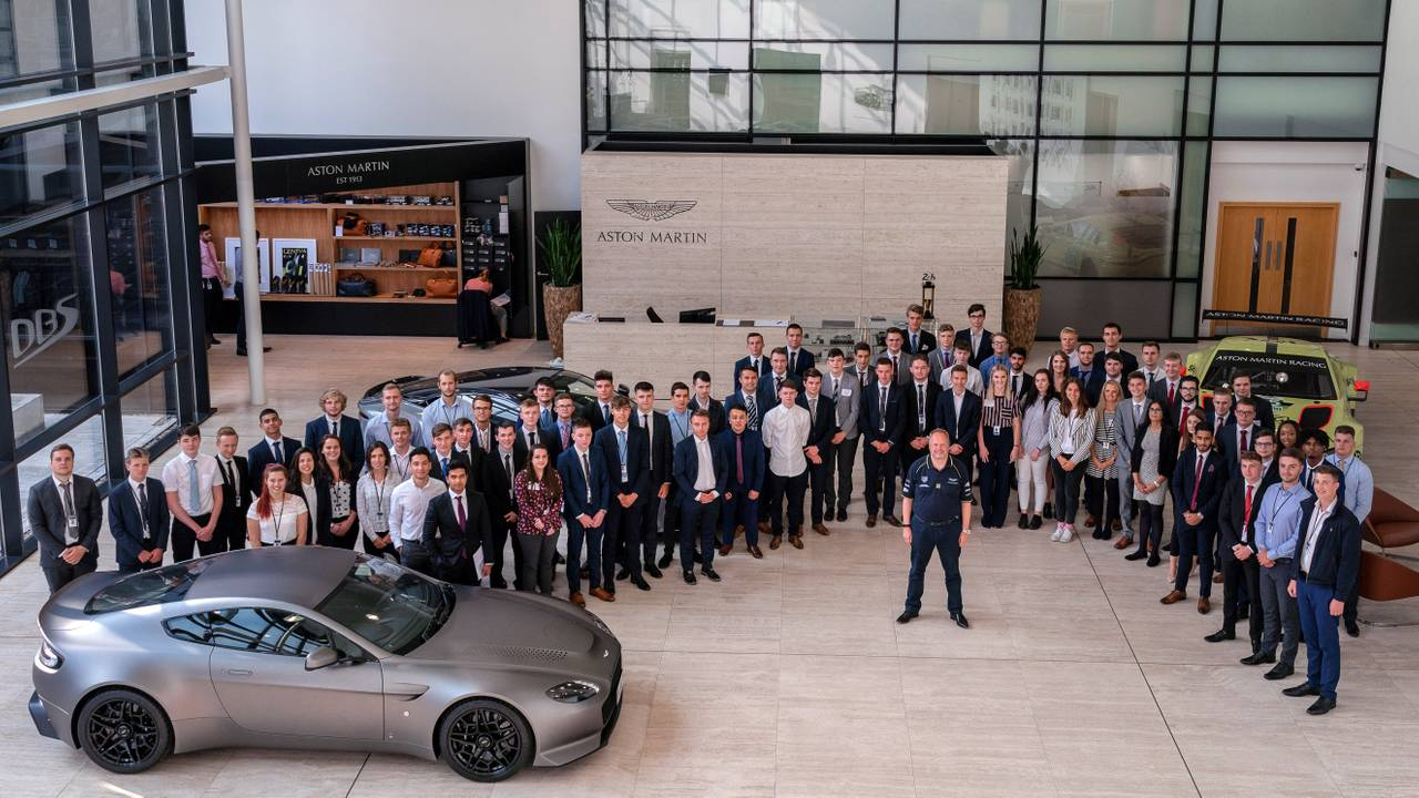 Aston Martin 2018 Apprentices and Graduates