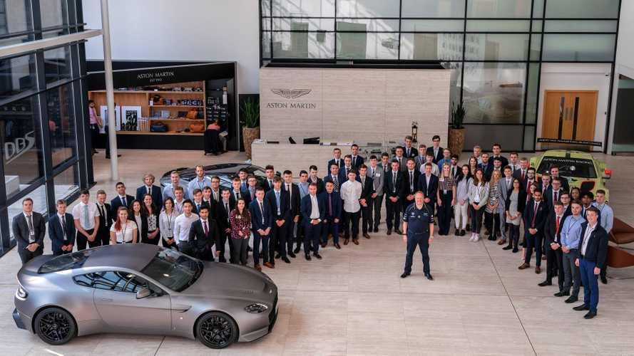 Aston Martin CEO Launches New Apprentice Scheme
