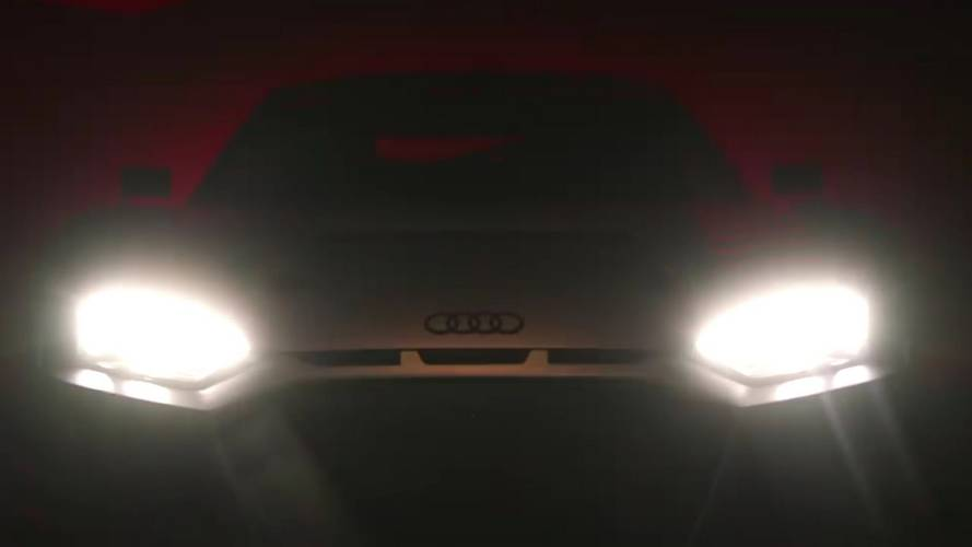 Possible Audi R8 Race Car Teased Again Prior To Paris Reveal