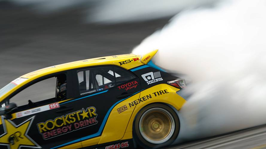 Drift team lifts the lid on crazy Corolla