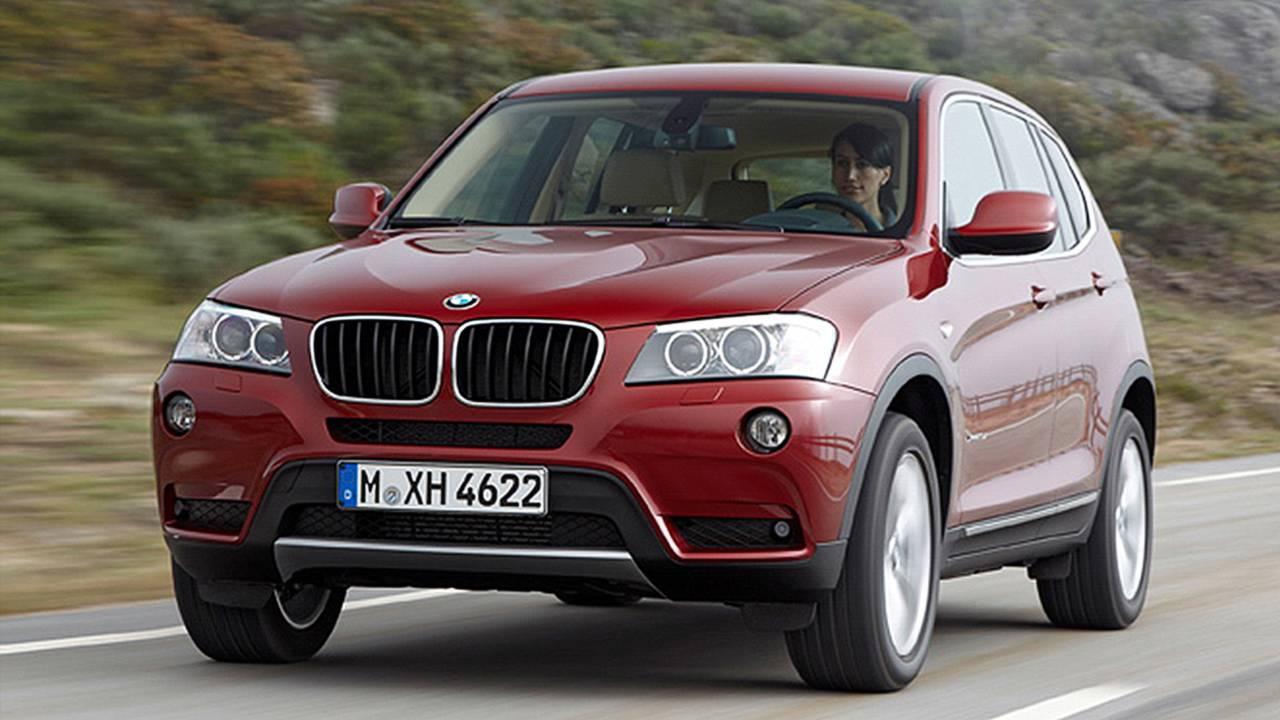 Platz 8: BMW X3 (2. Generation)
