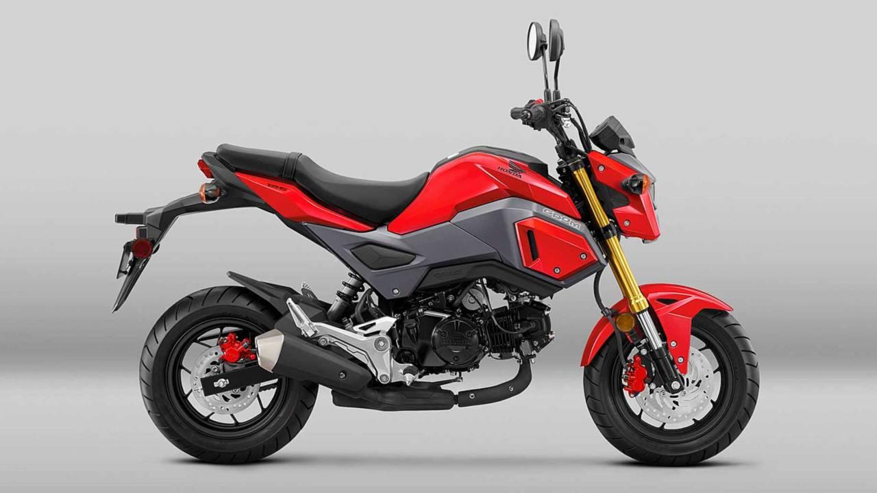 The Honda Grom, king of pocket bikes.