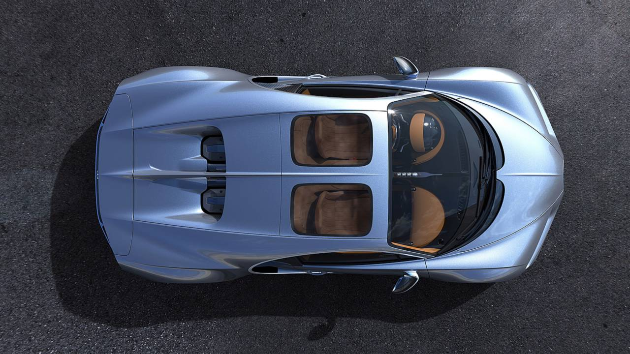 Bugatti Chiron Skyview techo panorámico