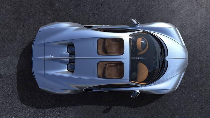 El Bugatti Chiron estrena un techo panorámico de corte aeronáutico