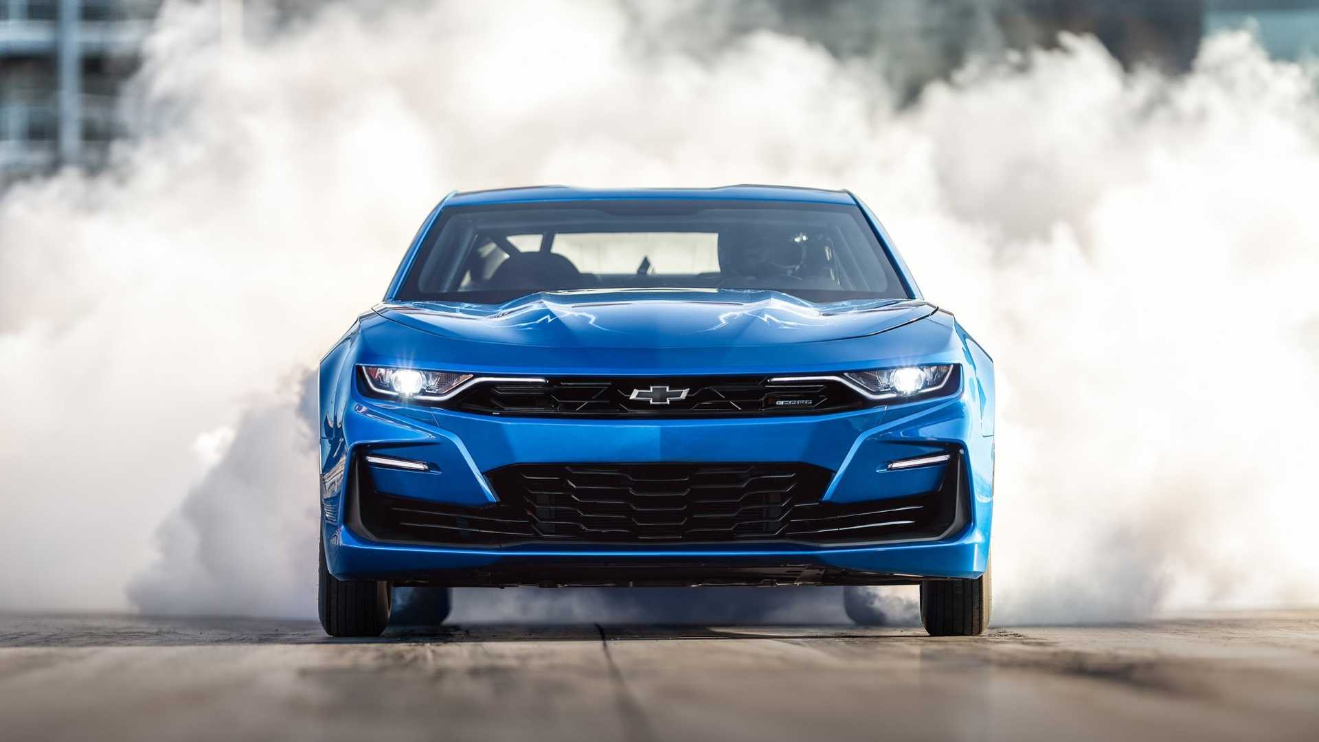 Insane Chevrolet eCOPO Electric Camaro To Be Sold At Auction