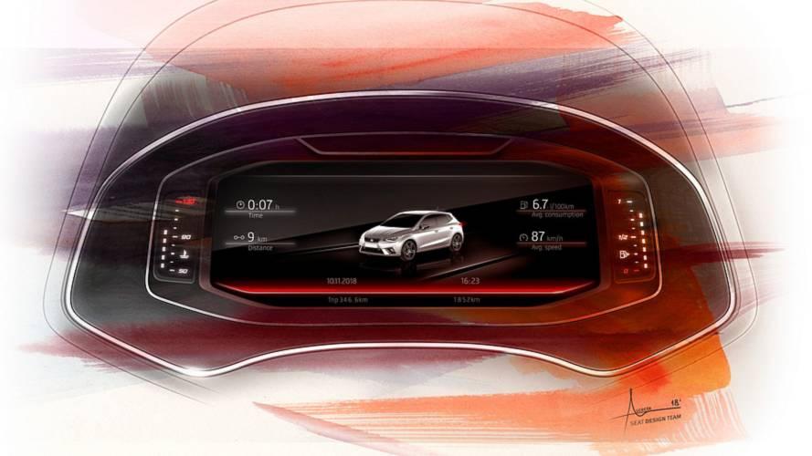 SEAT Ibiza és Arona - Digital Cockpit