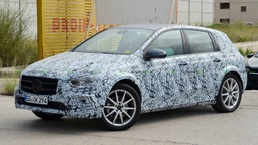 Mercedes-Benz EQB Spied Testing: 100-kWh Battery Capacity Rumored