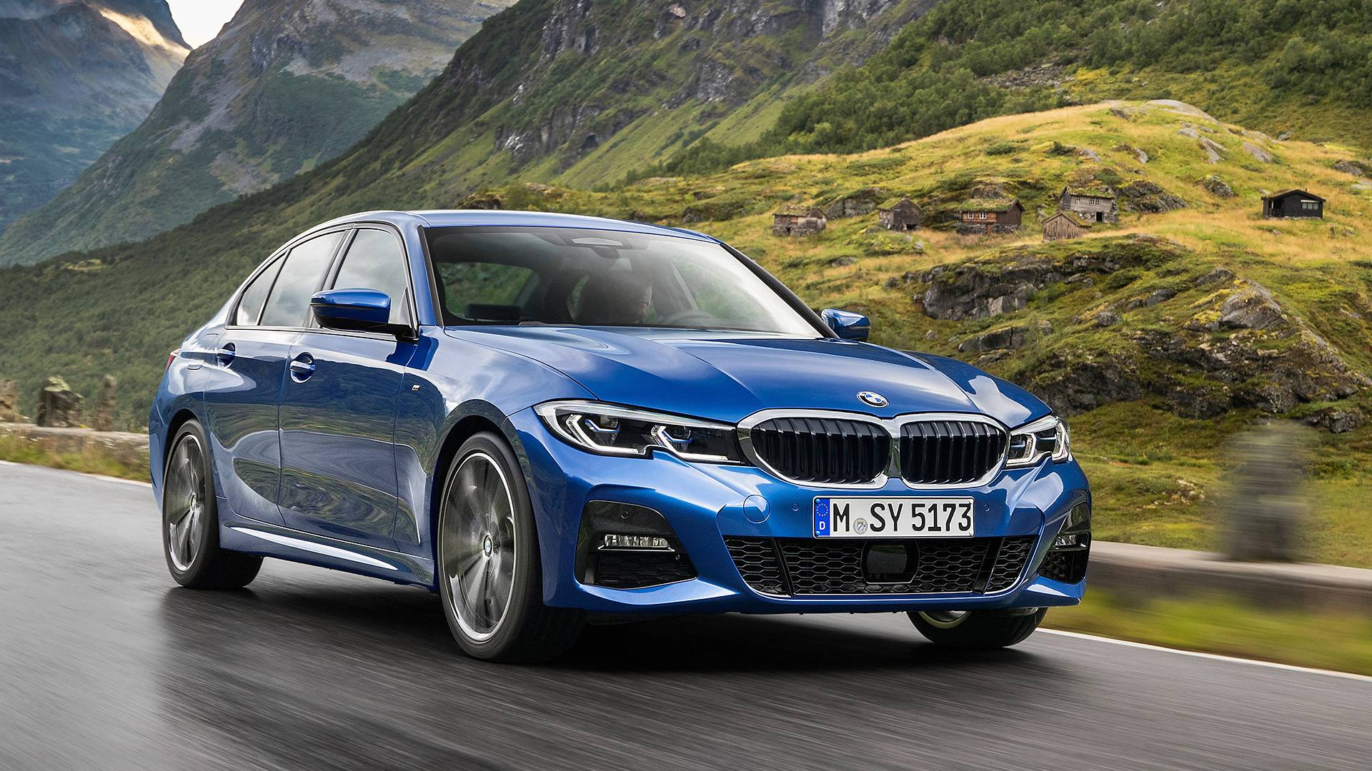 The All New 2019 Bmw 3 Series Almost Looking For The Spindle Grille
