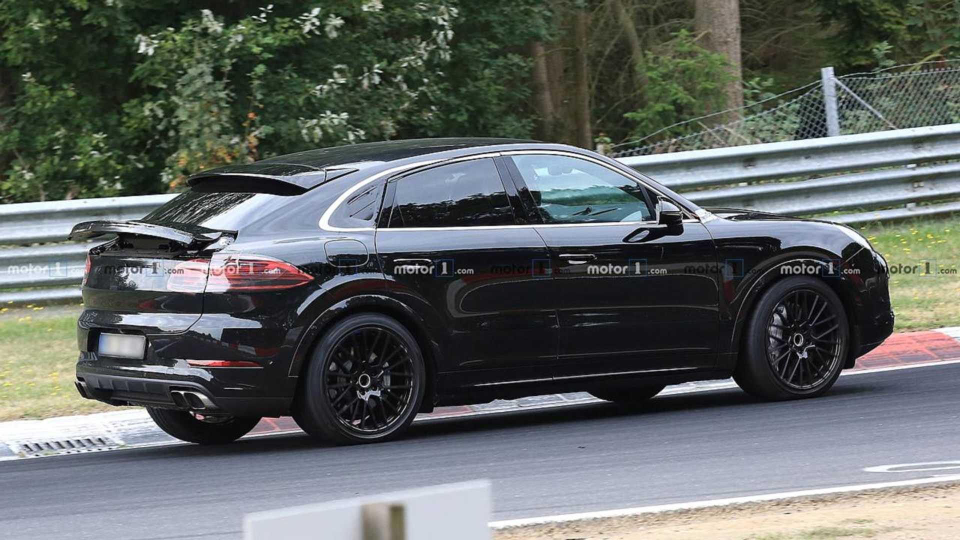 2019 [Porsche] Cayenne coupé - Page 4 Porsche-cayenne-coupe-spy-shots