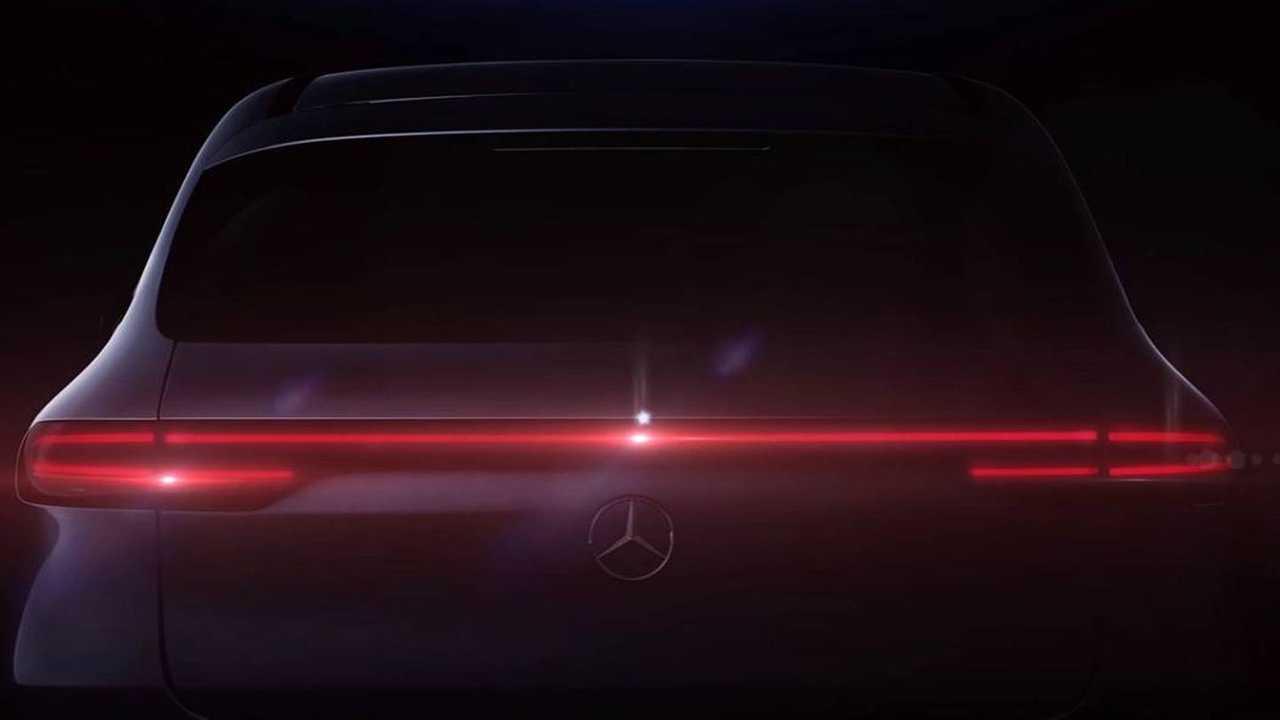 Mercedes EQC Rear Teaser