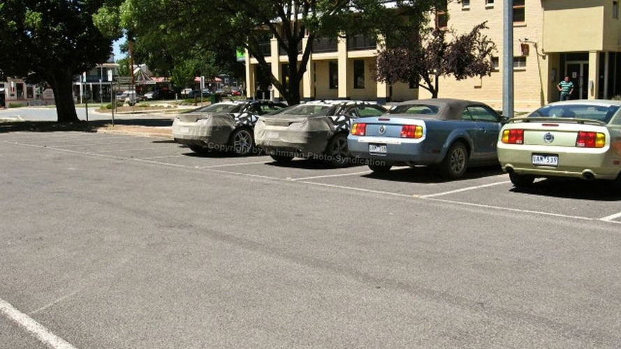 2009 Chevrolet Camaro Spied in Australia
