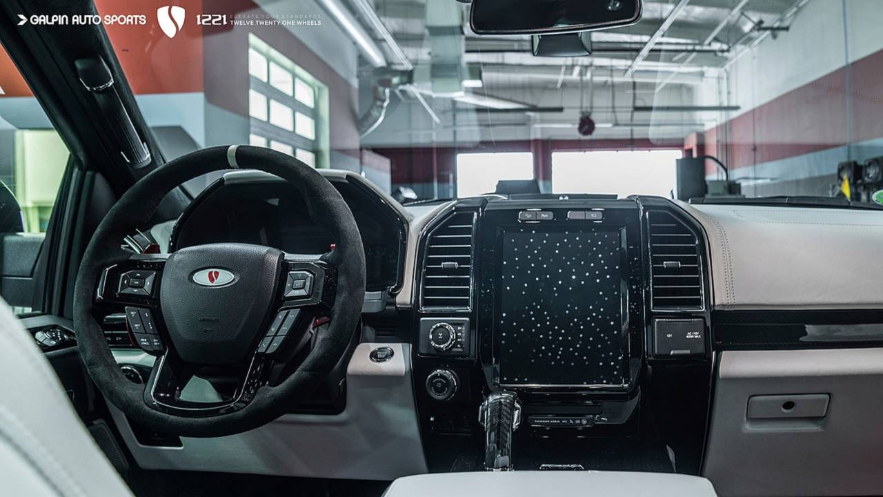 Ford Raptor Interior >> Watch How A Ford Raptor Turns Into The Insane Custom Raptor S