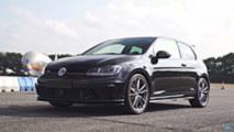 Volkswagen GTI showdown drag race