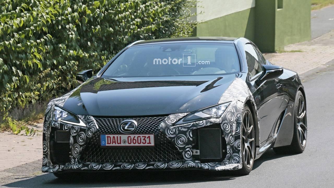 Lexus LC F Casus Fotoğraflar