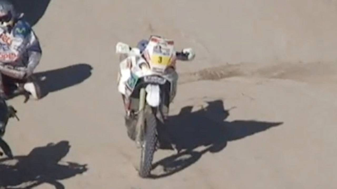 Why you shouldn't steal gas on the Dakar