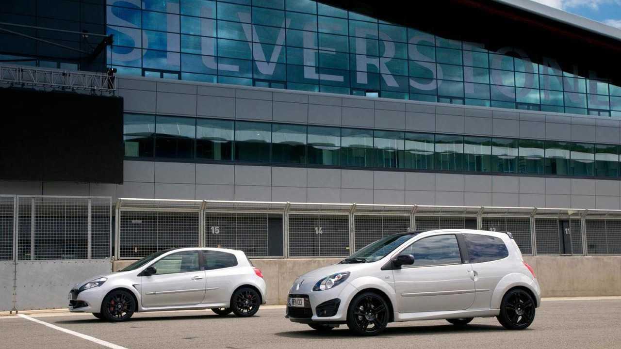 Renault Twingo y Clio RS Silverstone GP