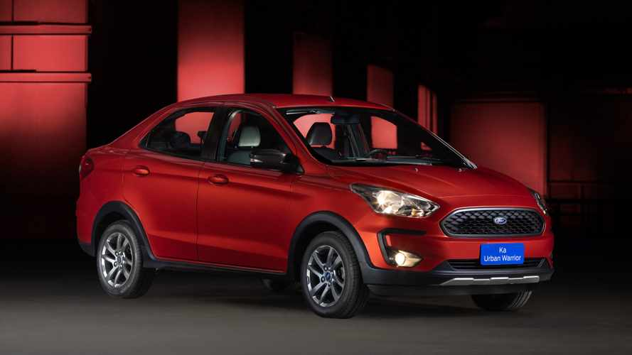 Ford Ka Urban Warrior mostra provável versão FreeStyle do sedã