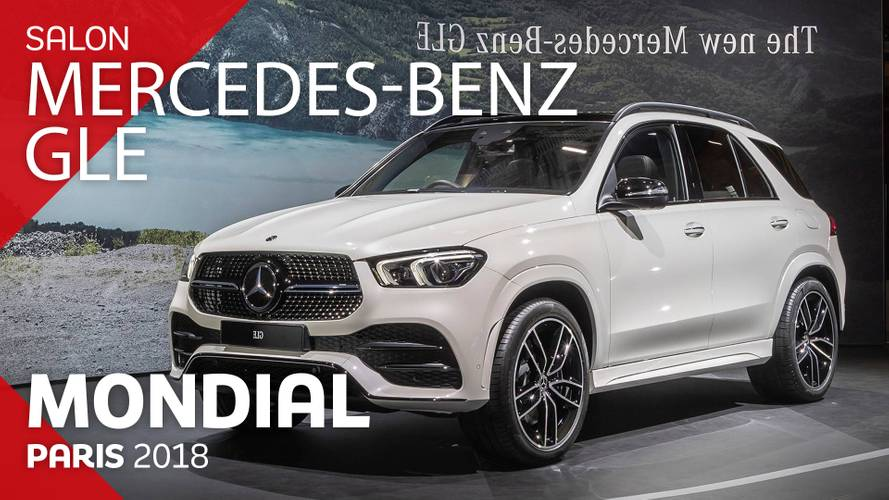VIDÉO - Le Mercedes-Benz GLE en direct au Mondial 2018