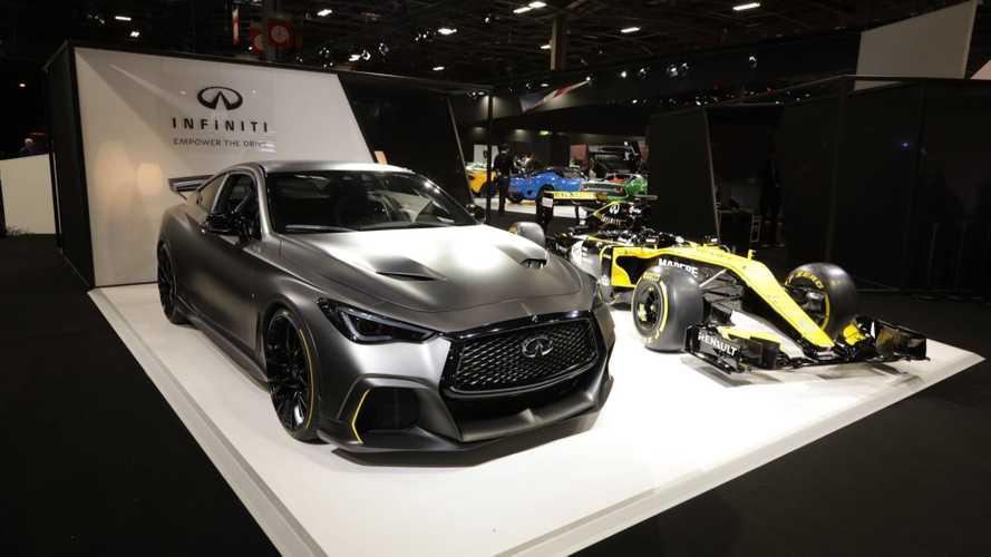 Infiniti Project Black S mit Hybridtechnik aus der Formel 1