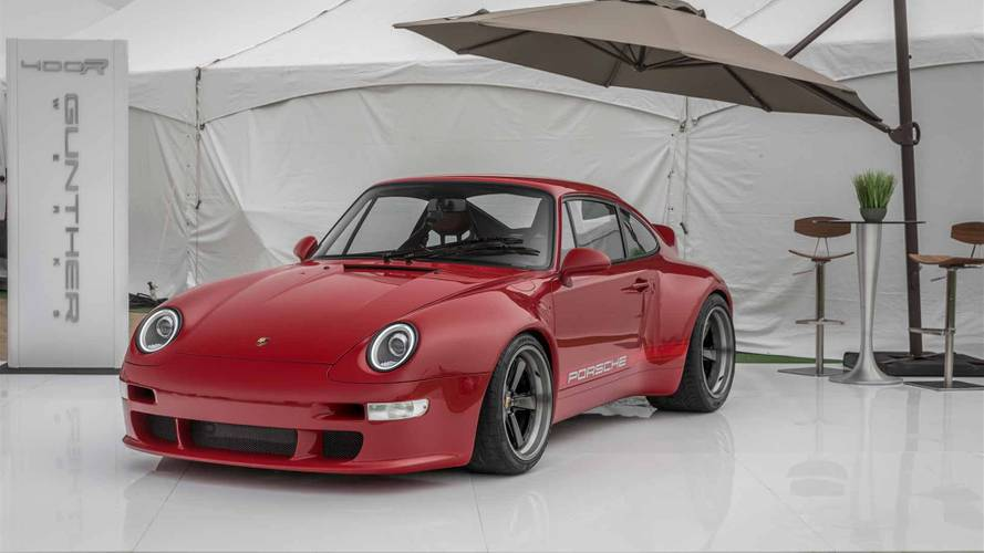 Porsche 911 993 by Gunther Werks: espectacular con el color Solar Red