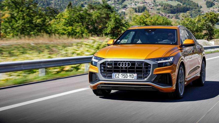 Essai Audi Q8 50 TDI - Le haut du tableau