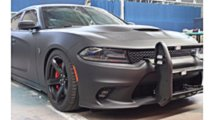 dodge charger hellcat police car
