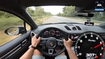 Porsche Cayenne Turbo Goes 190 MPH On Autobahn
